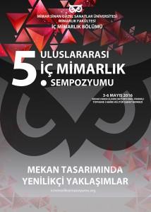 Mimar sinan üniversitesi Mimarlık fakiltesi İç Mimarlık Bölümü - sempozyum kursları mülakatlar