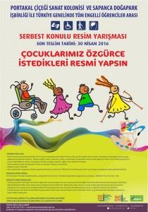 PORTAKAL ÇİÇEĞİ SANAT KOLONİSİ Engelli Öğrencilere Yönelik Türkiye Geneli Resim Yarışması güzel sanatlar liselerine